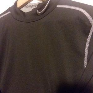 Nike Pro Combat Dri-Fit L/S Shirt Fitted Small Blk